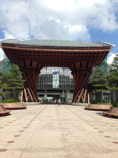 金沢駅の写真・画像素材[632092]