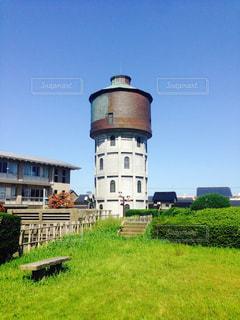 給水塔の写真・画像素材[632140]