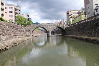 眼鏡橋の写真・画像素材[1564883]