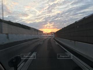 夕焼けの写真・画像素材[637141]