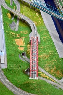 近くの橋の上の写真・画像素材[775969]