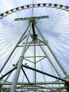 近くの橋の上の写真・画像素材[1087376]
