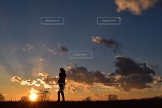 夕焼けの写真・画像素材[320372]