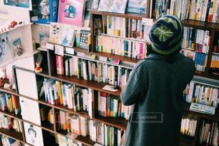 本棚の部屋の写真・画像素材[983187]
