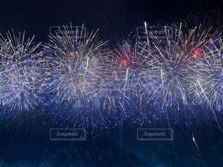 空の花火の群の写真・画像素材[3284965]
