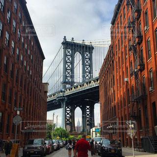 ブルックリンブリッジの写真・画像素材[638842]