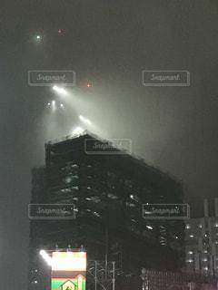 建設中の高層ビルの写真・画像素材[1046481]