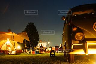 キャンプの写真・画像素材[776629]