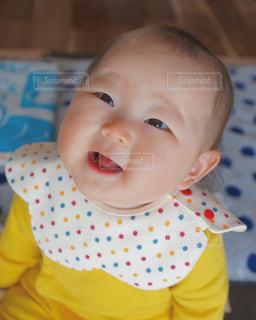 赤ちゃんの笑顔の写真・画像素材[1823098]