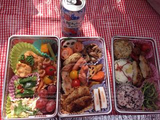 お弁当の写真・画像素材[641881]
