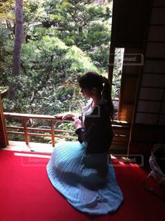 赤絨毯の写真・画像素材[716792]