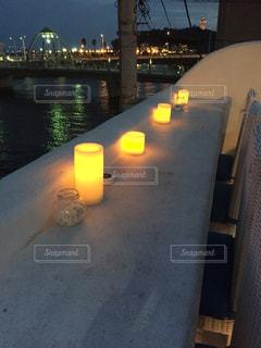 水の体の上の橋の写真・画像素材[755998]