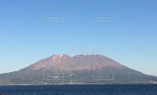 桜島 鹿児島火山海溶岩の写真・画像素材[638620]