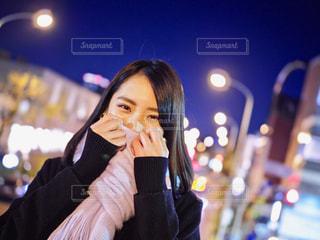 笑っている女性の写真・画像素材[973071]