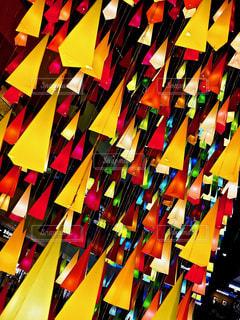 色とりどりランプの写真・画像素材[983907]