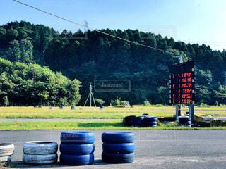 レース前の写真・画像素材[800043]