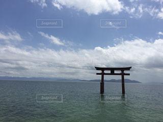 湖の写真・画像素材[639694]