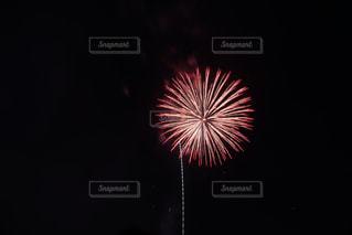 暗闇の中で爆発する花火の写真・画像素材[1398207]