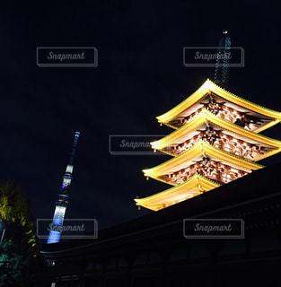 夜景の写真・画像素材[640470]