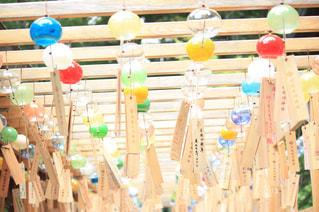 川越氷川神社 風鈴 縁結び風鈴の写真・画像素材[640233]