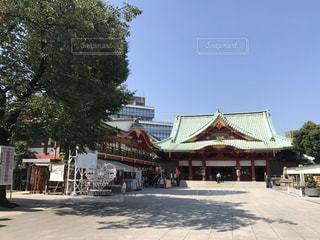 神社の写真・画像素材[640392]