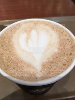 ラテアート コーヒーの写真・画像素材[1848766]