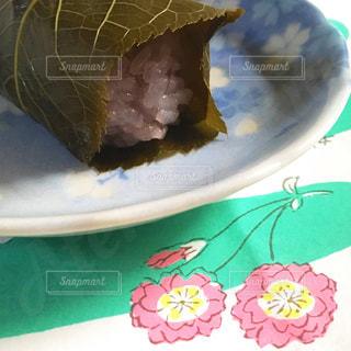 朔日餅(ついたちもち)の桜餅 赤福の写真・画像素材[1848838]