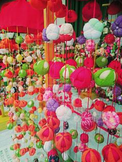 色とりどりの花のグループの写真・画像素材[707096]