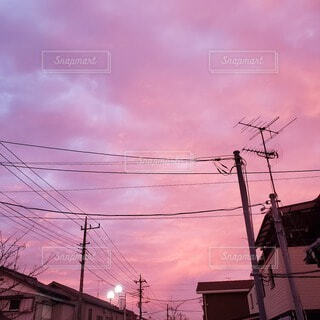 朝焼けの写真・画像素材[3907667]