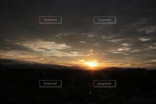 夕焼けの写真・画像素材[642563]