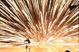 空に花火の写真・画像素材[1404620]