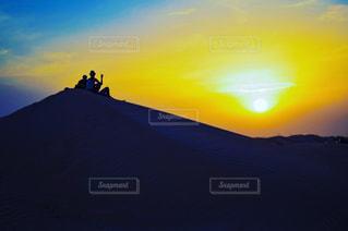 夕日の写真・画像素材[642817]