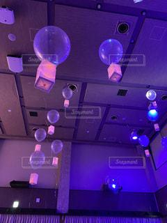 披露宴での浮かぶ風船演出(ディズニー)の写真・画像素材[3023150]