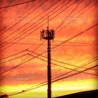夕焼けの写真・画像素材[644419]