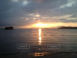夕日の写真・画像素材[644498]