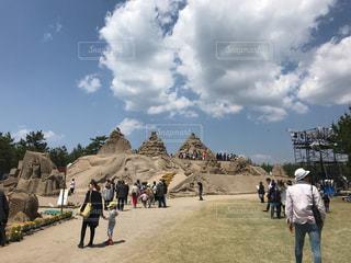 砂の祭典の写真・画像素材[1167933]