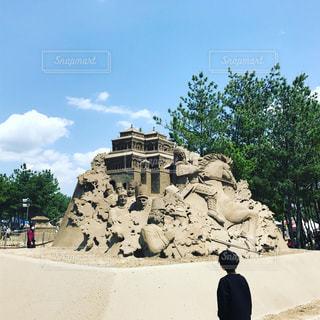 砂の祭典の写真・画像素材[1167935]