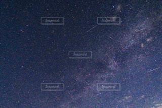流れ星の写真・画像素材[644906]