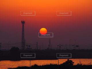 夕日の写真・画像素材[645041]