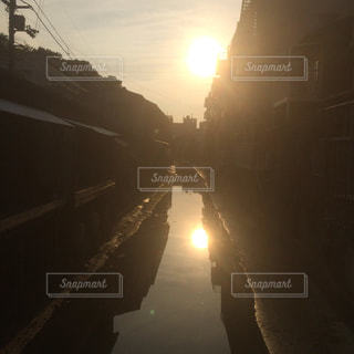 夕日の写真・画像素材[645403]