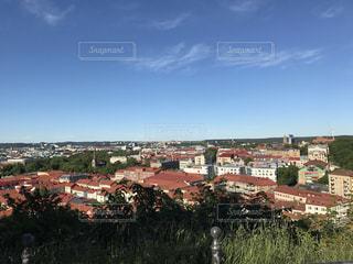大都市の風景 ヨーロッパ、北欧スウェーデンの街並みの写真・画像素材[1117646]