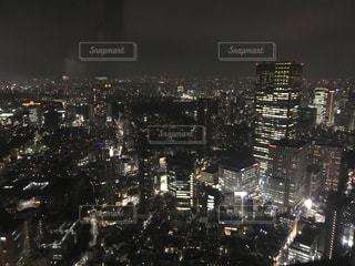 夜の街 東京、六本木の夜景の写真・画像素材[1117655]
