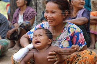 カンボジアで小学校を訪問!の写真・画像素材[647325]