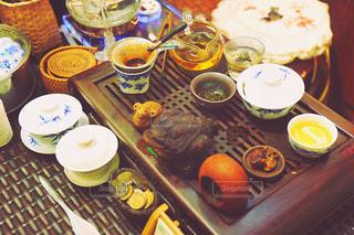 お茶の写真・画像素材[647524]