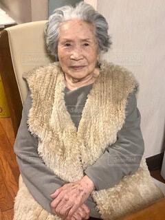 おばあちゃん95歳の写真・画像素材[3778657]