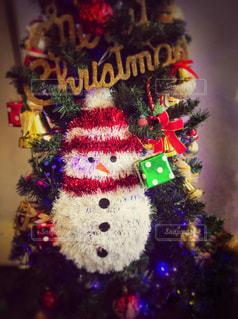 クリスマスツリーの写真・画像素材[877400]
