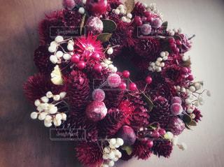 近くの花のアップの写真・画像素材[909287]