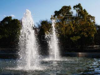 噴水の写真・画像素材[931118]