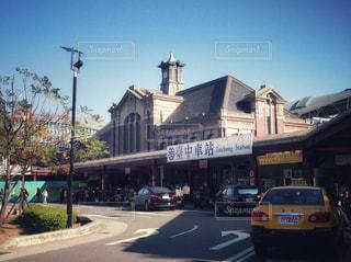 歴史ある台中駅 旧駅舎の写真・画像素材[951835]
