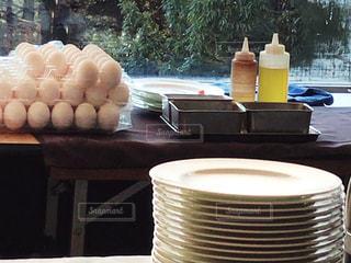 大量の卵の写真・画像素材[1157835]